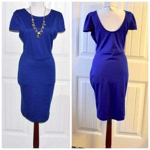 Forever 21 Blue Stretch Dress Size L